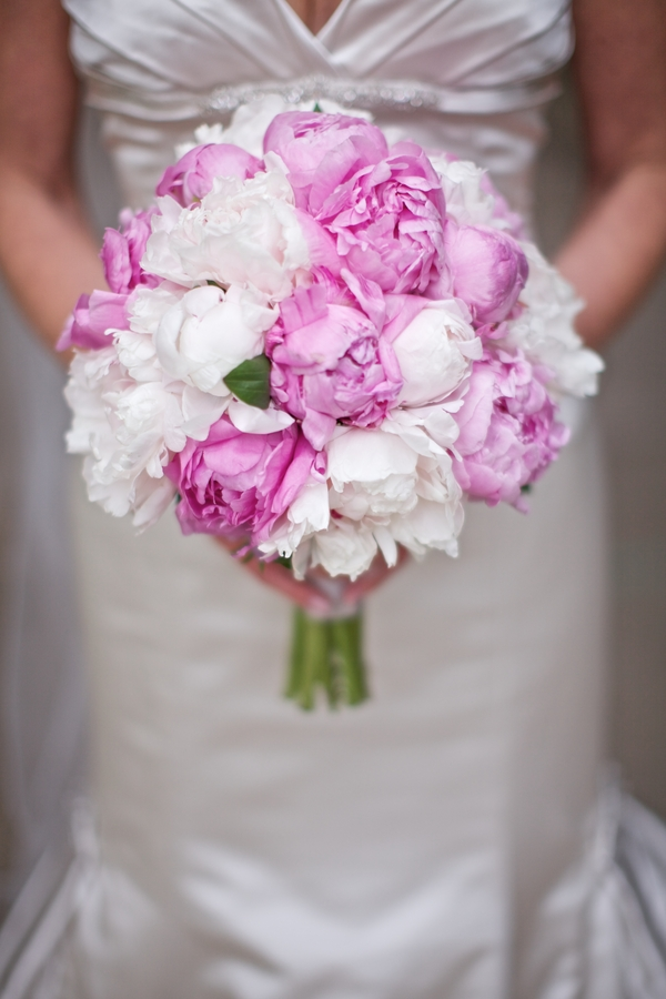 Pink And White Peony Bouquet Elizabeth Anne Designs The Wedding