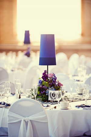 Purple-Lamp-Wedding-Centerpieces