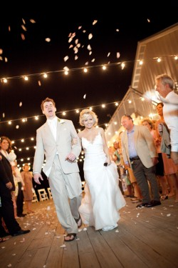 Reception Outdoor Lighting