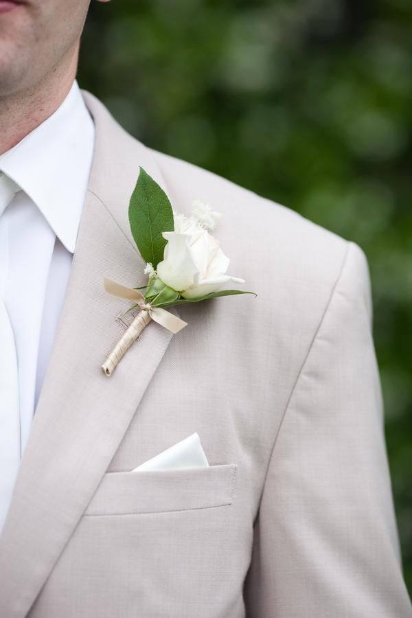 Rose Boutonniere Elizabeth Anne Designs The Wedding Blog