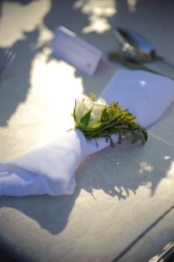 Rose in Napkins Wedding