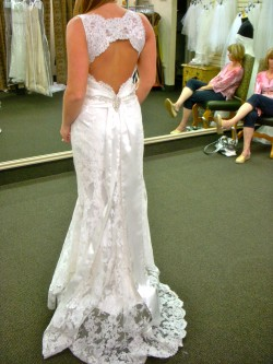 St Pucci Sposa Gown Back