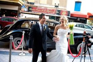 Theatre Entrance Art Deco Wedding Reception