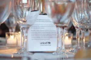 UNICEF Wedding Favor