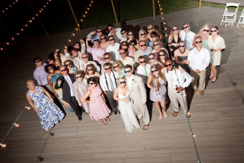 Wedding Guests Group Shot