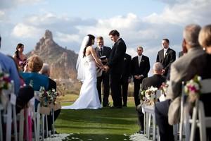 Arizona Wedding Ceremony Troon Country Club