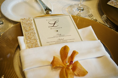 Beaded-Wedding-Menu