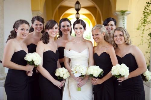 8aa9498f13a Black Bridesmaids Dresses - Elizabeth Anne Designs  The Wedding Blog
