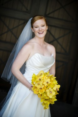 Bride-with-Yellow-Bouquet