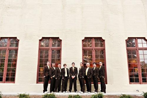 Brown Groomsmen Suit