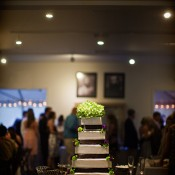 Brown-and-Green-Wedding-Cake