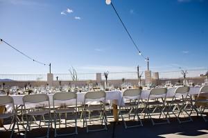 Casual-Outdoor-Wedding-Reception