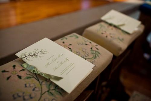 Cherry-Blossom-Wedding-Program