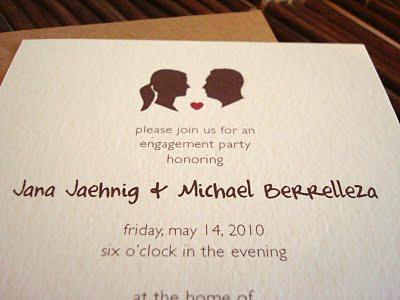 Engagement-Invitations
