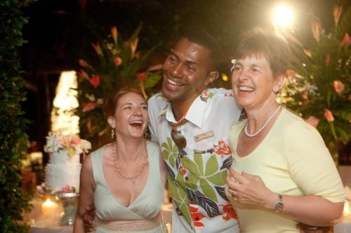 Fiji Castaway Island Reception
