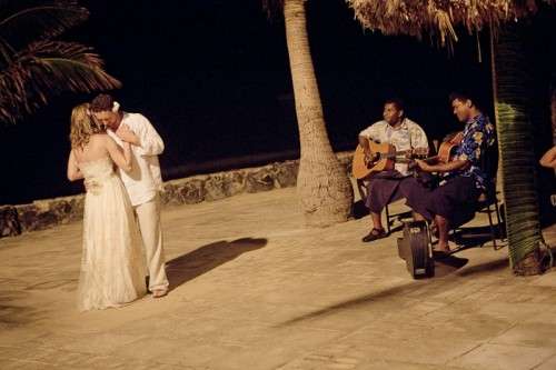 First Dance Fiji Destination Wedding