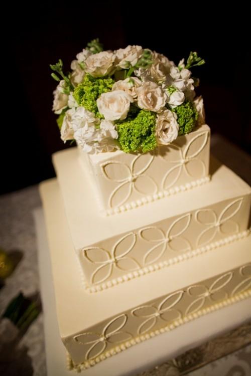 Floral-Cake-Topper - Elizabeth Anne Designs: The Wedding Blog
