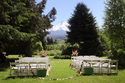 Garden Wedding Portland