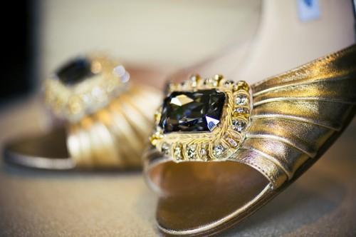Gold-Bridal-Shoes