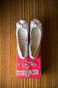 silver kate spade shoes