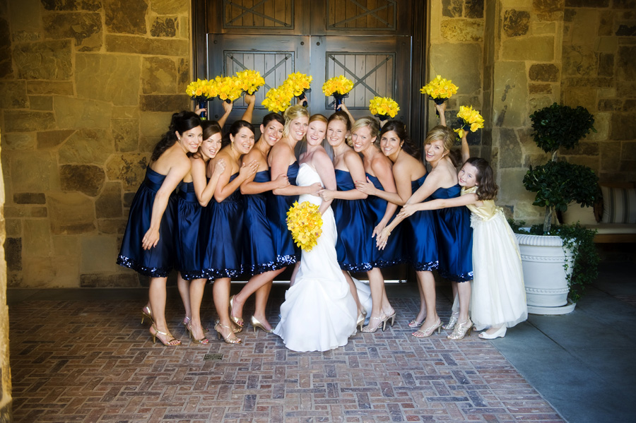 Navy bridesmaids dresses elizabeth anne designs the for What shoes to wear with navy dress for wedding