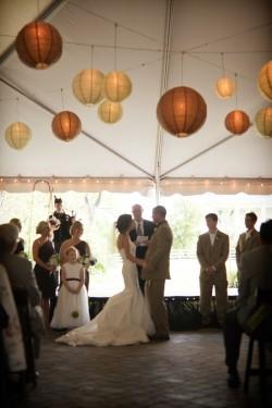 Paper-Lanterns-Tent-Wedding-Reception