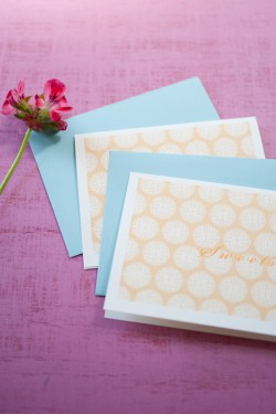 Peach-and-Blue-Stationery