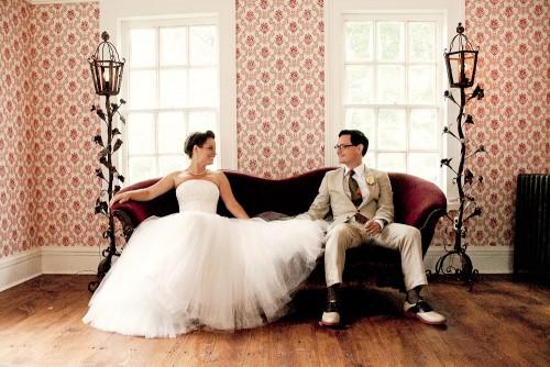 Photo Pink Vintage Wedding Photography