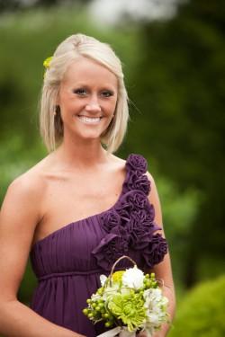 Purple-Chiffon-Bridesmaids-Dress