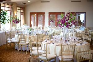 Purple-White-and-Gold-Wedding-Reception-Decor