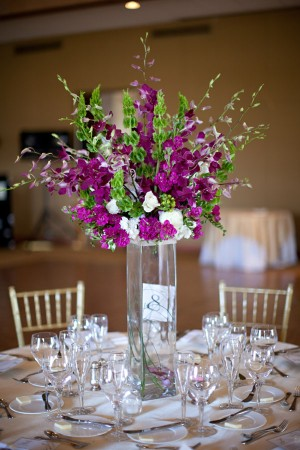 Purple-and-Green-Orchid-Tall-Centerpiece