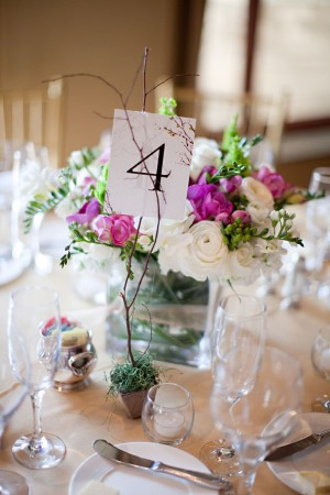 Purple-and-White-Low-Centerpieces