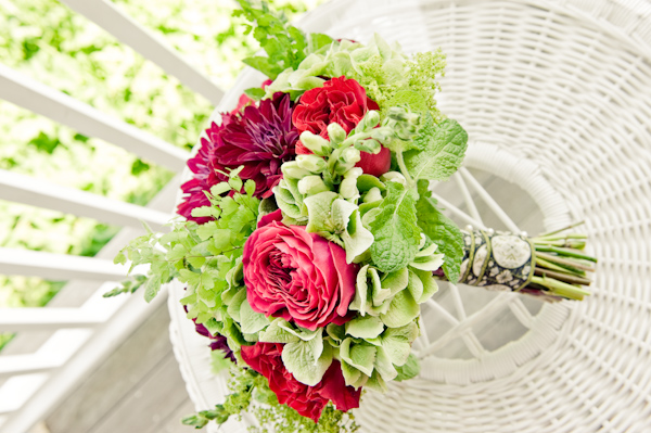 Red-and-Green-Bridal-Bouquet