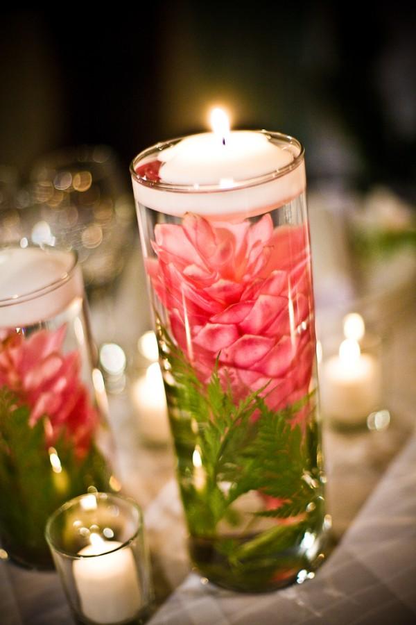 Свечи в цветах 6
