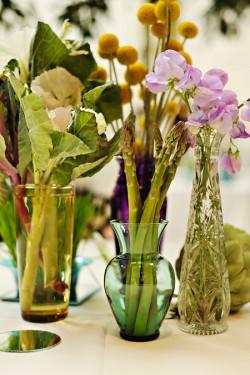 Vegetable Centerpiece Unique Wedding Ideas