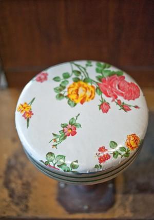 Vintage-Floral-Barstool