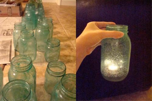 Vintage-Mason-Jars-Painted