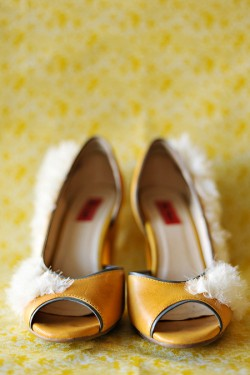 Yellow Bride Shoes