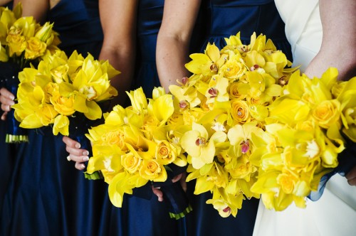 Yellow-Orchid-Bouquets
