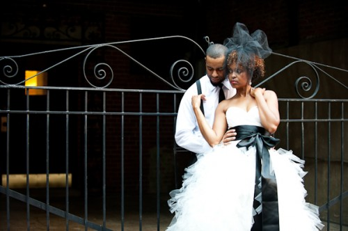 Black-Tulle-Veil-Fascinating-Creations