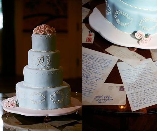 Classic-Blue-Wedding-Cake
