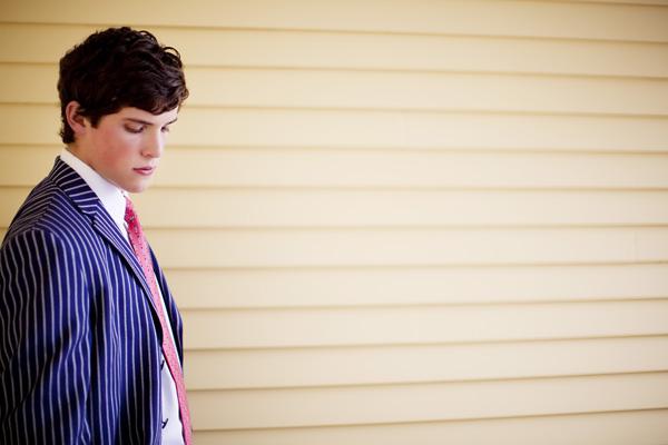 Groom in Pink Tie
