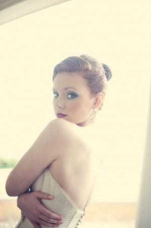 Classic New England Bride Look