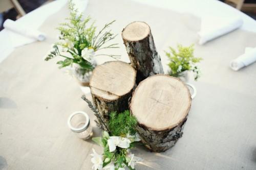 Diy Wood Centerpiece Elizabeth Anne Designs The Wedding Blog