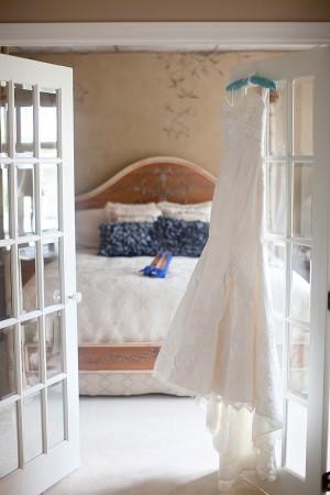 Gown-Hanging-on-Door