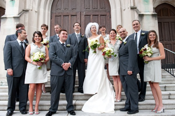 Gray-and-Silver-Wedding