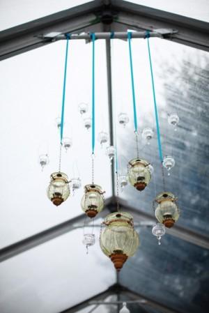 Hanging Glass Lanterns