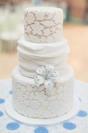 Lace-Fondant-Wedding-Cake
