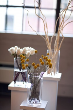 Modern-White-and-Yellow-Wedding