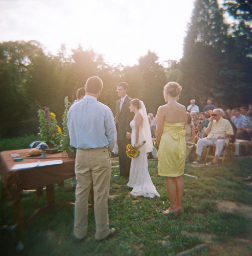 Wedding Dance At The Altar: Farm Wedding Knoxville Dixie Pixel Photography